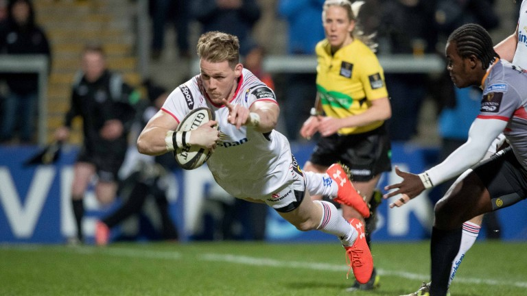 Craig Gilroy scored a hat-trick for Ulster against Kings