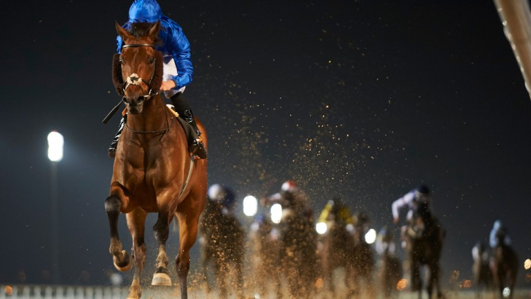 Gold Town: bids to win the UAE Derby for Godolphin