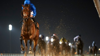 Gold Town and William Buick romp to victory in the UAE 2,000 Guineas