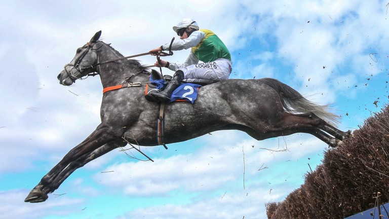 Brian Hughes and Cloudy Dream head for victory in the Future Champions Chase at Ayr