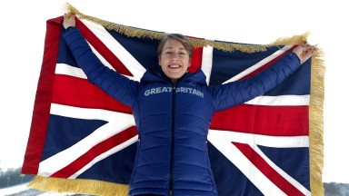 Lizzy Yarnold: Team GB flagbearer provided John Hunt's number one highlight of the Winter Olympics when she defended her title in the skeleton