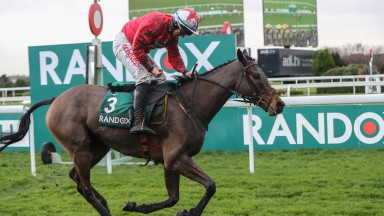 Blaklion: warms up for Grand National at Haydock on Saturday