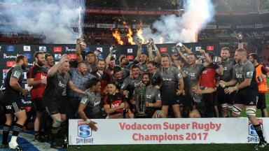 The Crusaders claimed the Super Rugby title in 2017