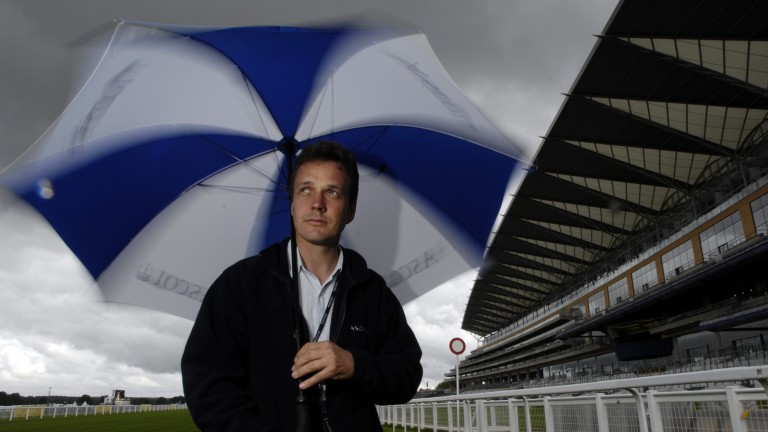 Chris Stickels: Ascot clerk of the course said the going walked nicely despite the rain