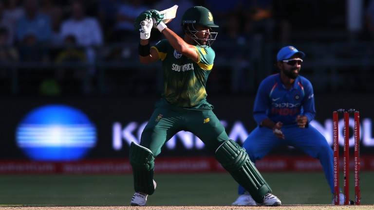 JP Duminy may have to lead by example for an inexperienced South Africa side