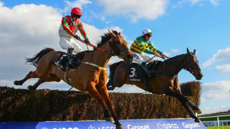 Regal Encore (green and yellow): Grand National could be the race for him