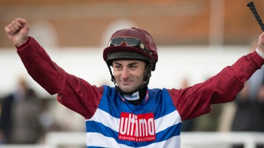 Adam Beschizza: lost out by a nose in a Grade 2 at Fair Grounds