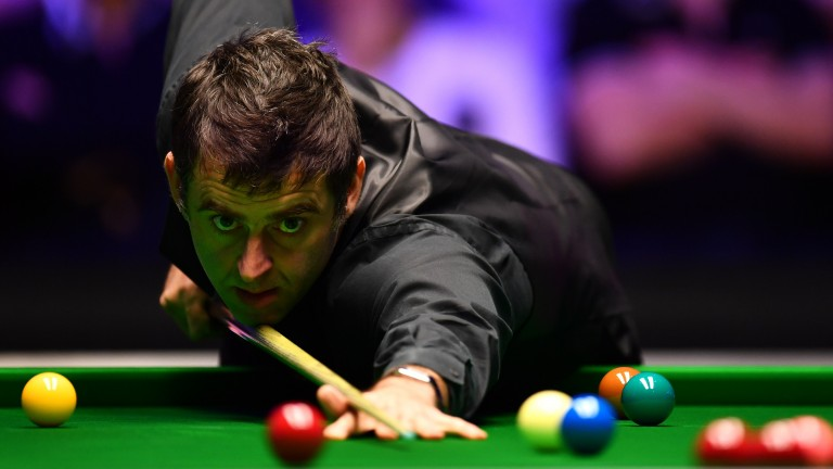 Ronnie O'Sullivan is enjoying a hugely successful campaign