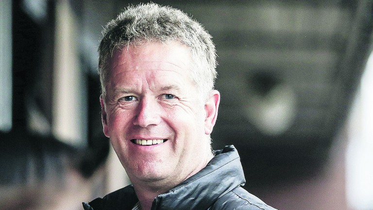 John Best: trainer had endured a brief lean spell