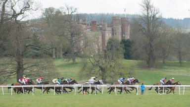 Scone Palace Park provides a picturesque backdrop to racing at Perth