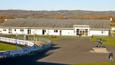 Ffos Las: scene of bookmaker daylight robbery last year