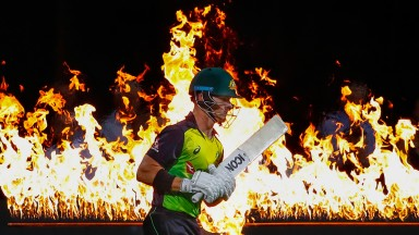 D'Arcy Short hit 76 in Australia's record run-chase against New Zealand