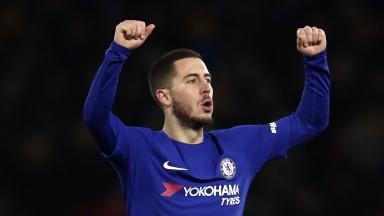 Eden Hazard will be hoping for plenty to celebrate at Stamford Bridge