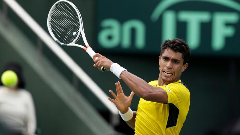 Thiago Monteiro could upset Pablo Cuevas