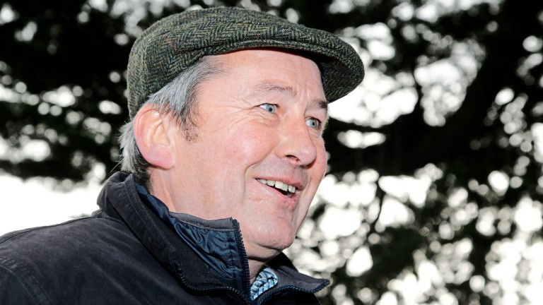 Pat Fahy: looking forward to a big weekend at Leopardstown