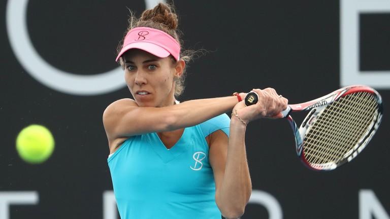 Mihaela Buzarnescu reached the final in Hobart last month