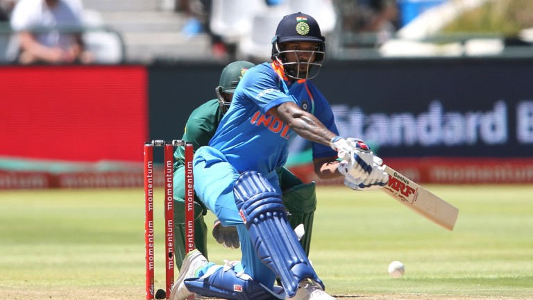 Shikhar Dhawan hit a match-winning 72 in the first T20