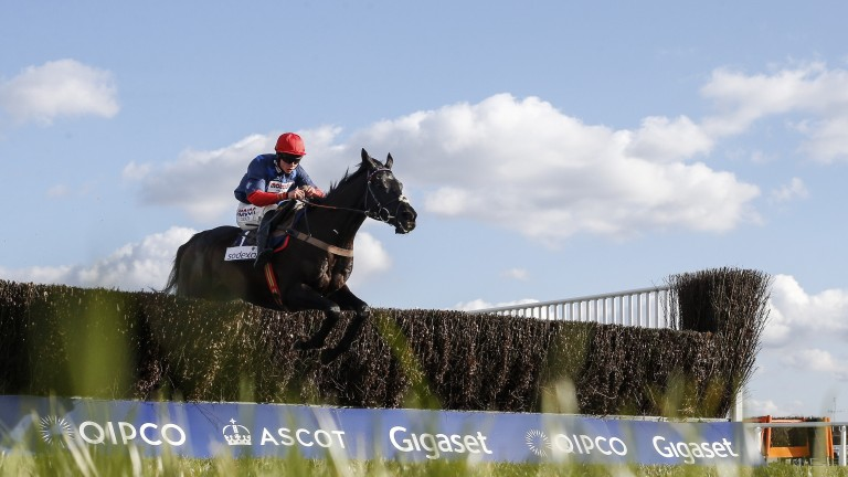 Bryony Frost on Black Corton, her big chance at this year's Cheltenham Fesitval