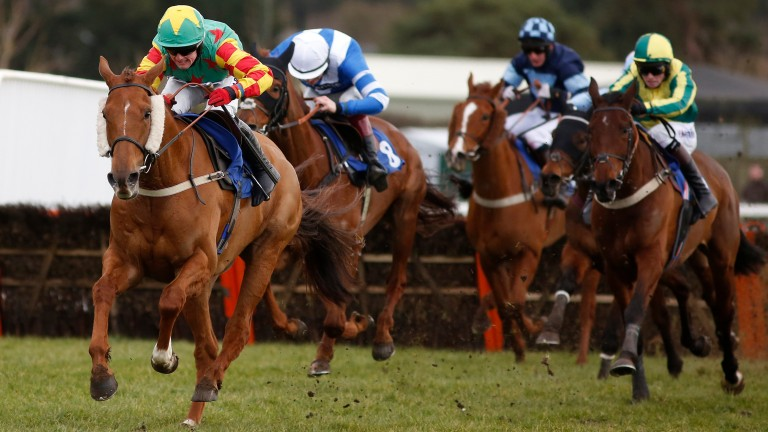 Same again, please: Lil Rockerfeller lands the National Spirit Hurdle at Fontwell in 2016