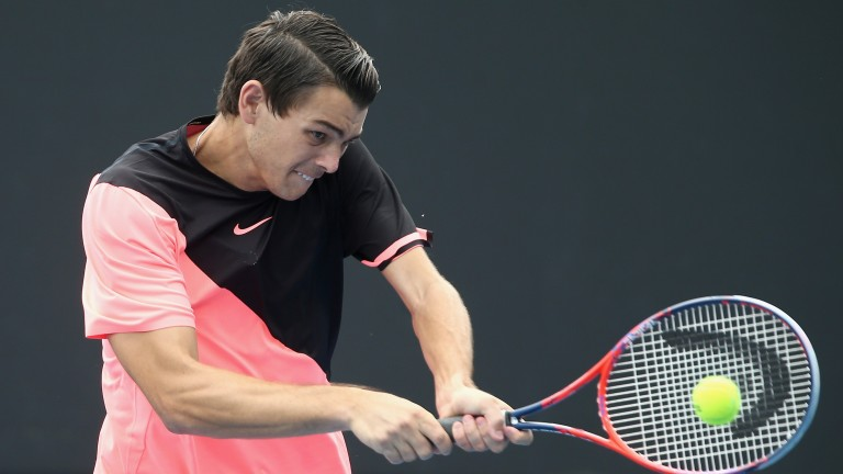 Taylor Fritz looks back to somewhere near his best this year