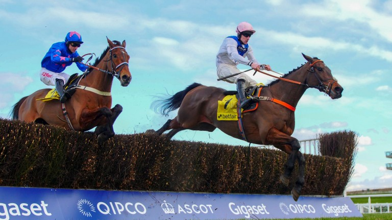 Waiting Patiently: a noteable absentee from the Ryanair Chase