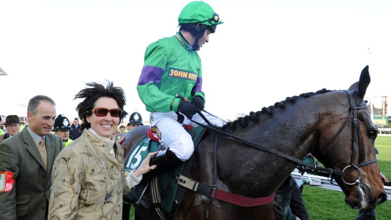 Venetia Williams won the 2009 Grand National with Mon Mome