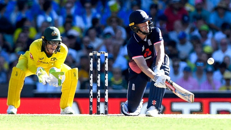 Chris Woakes showed off England's batting depth in the ODI series in Australia