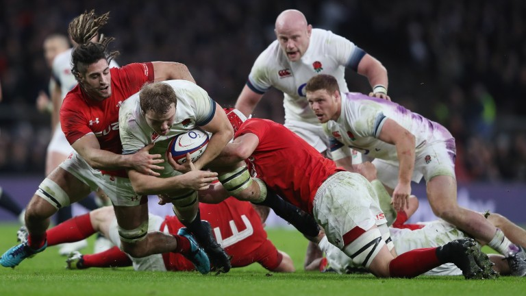 The Wales defence stepped up to the mark in round two against England