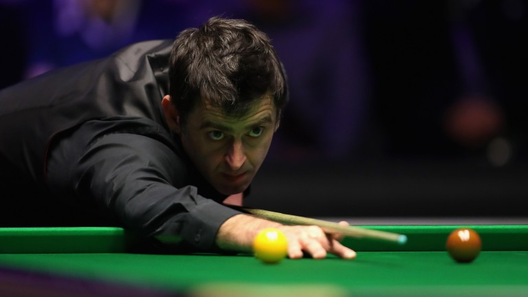 Ronnie O'Sullivan was an easy winner of his Preston quarter-final