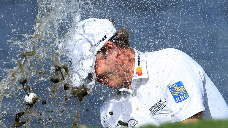 Brandt Snedeker had some issues in the water on Thursday