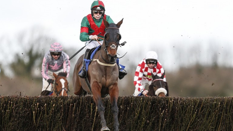 Jockey Max Kendrick and Themanfrom Minella won last year's Somerset National