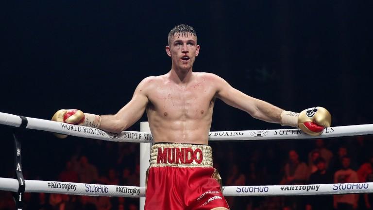 Callum Smith during his fight against Erik Skoglund