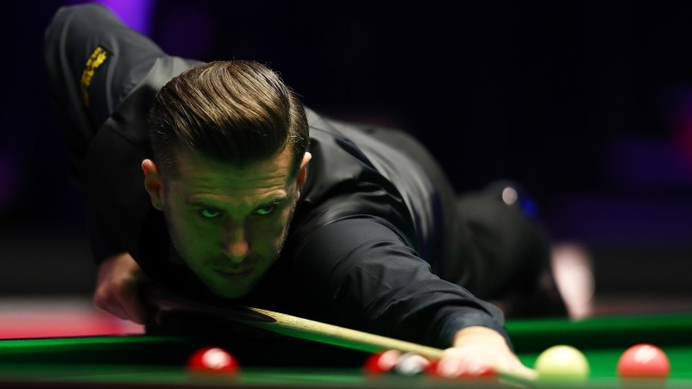 Mark Selby is fine-tuning his game with his world title defence starting soon