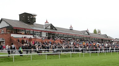 Pontefract: one of four courses in action in Britain and Ireland on Sunday