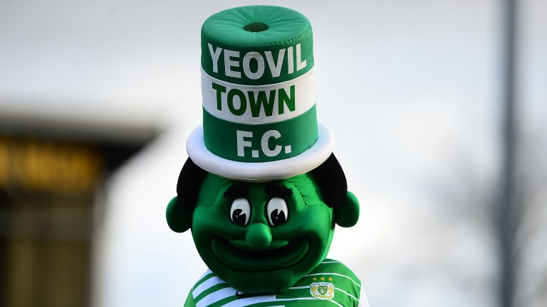 Yeovil mascot Jolly Green Giant could have even more reason to smile