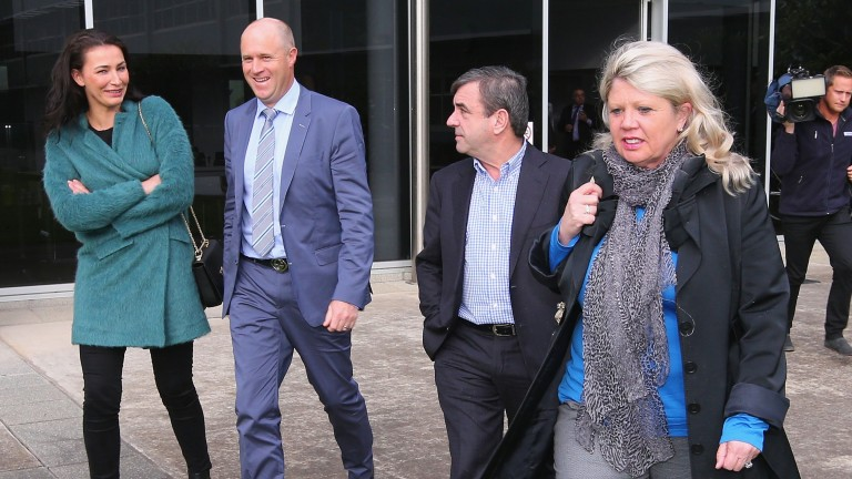 Danny O'Brien (left) and Mark Kavanagh were cleared of knowingly administering cobalt after a three-year process