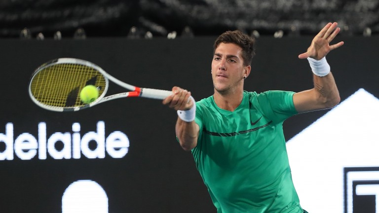 Thanasi Kokkinakis should be raring to go for his North American spring hard-court campaign