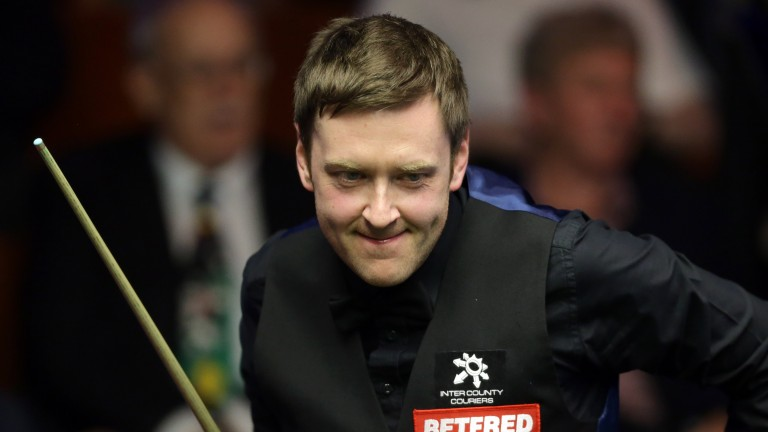 Ricky Walden can see off Martin Gould