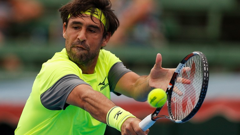 Marcos Baghdatis could upset the odds in Dubai