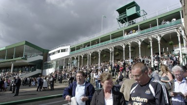 Newcastle racegoers: will see the debut of the equine Keir Hardie on Wednesday