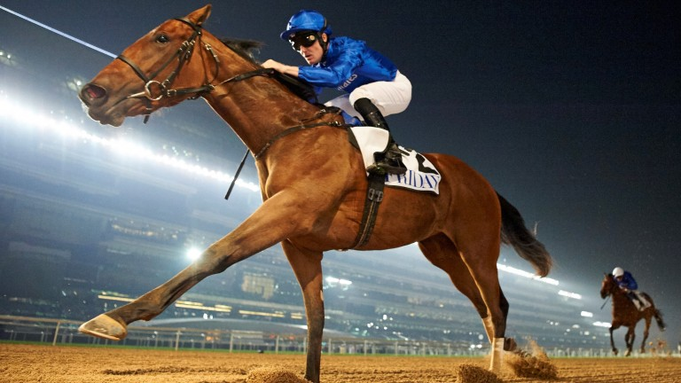 Winter Lightning: seeks to complete the UAE 1,000 Guineas-Oaks double on Thursday