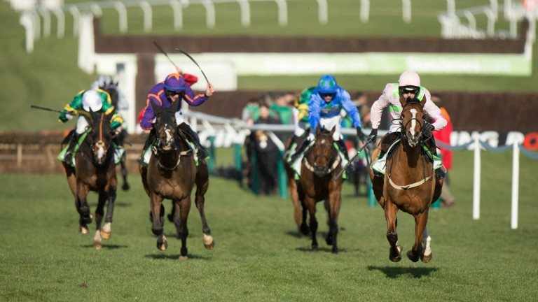 Faugheen in his pomp: winning the 2015 Champion Hurdle