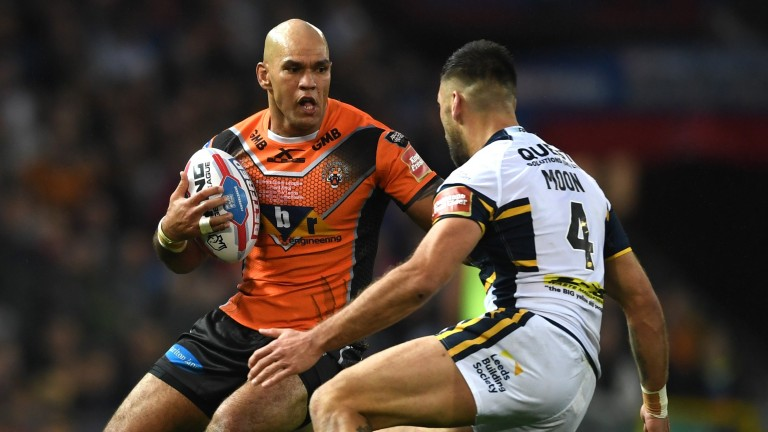 Castleford's Jake Webster could enjoy his return to Hull