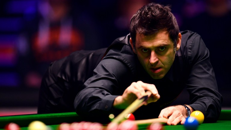 Ronnie O'Sullivan is chasing yet another tournament triumph