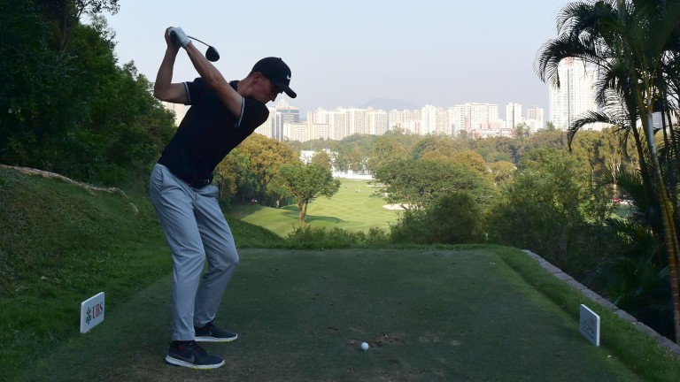 Marcus Kinhult during the UBS Hong Kong Open