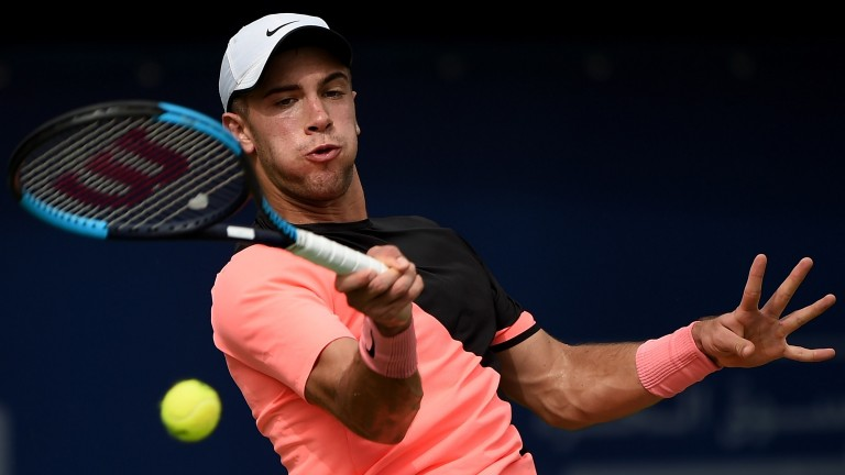 Borna Coric has started the Dubai Championship on the front foot
