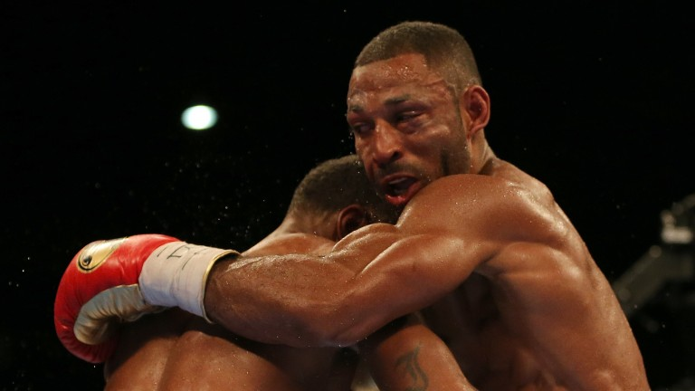 Kell Brook squints through the pain against Errol Spence