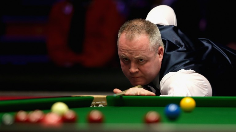 John Higgins is hoping to land a record fifth Welsh Open crown