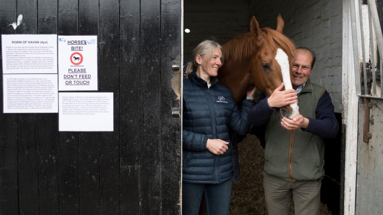 Robin Of Navan with Christina and Harry Dunlop