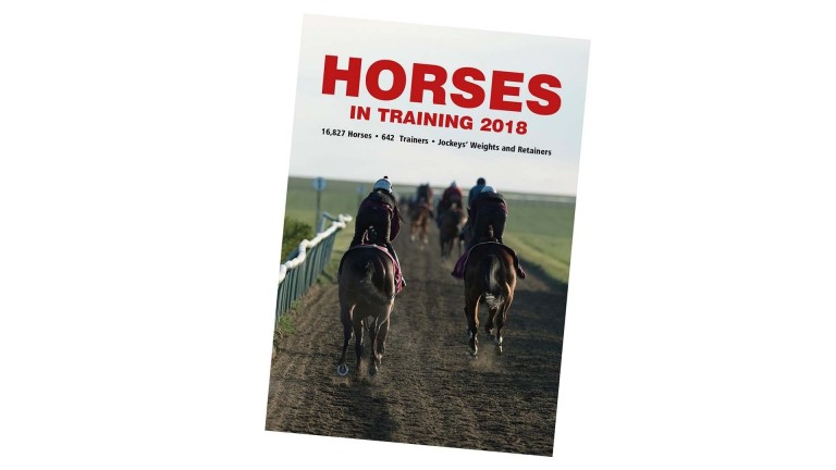 Horses In Training, published on Friday
